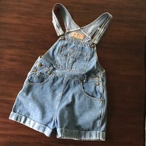 EXP • Vintage • Express • Jean • Overall • Shorts